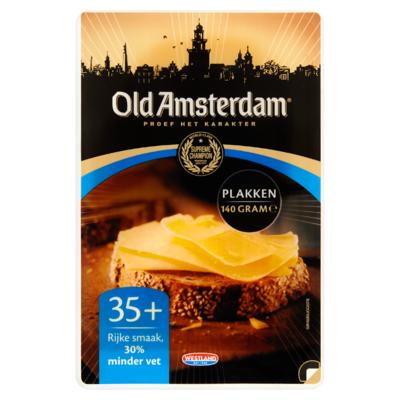 Old Amsterdam Plakken Kaas 35+ 140 g