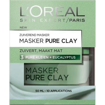 L'Oréal Skin expert zuiverend pure clay masker