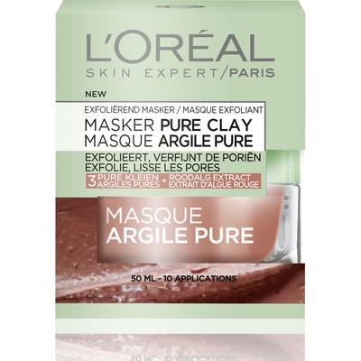 L'Oréal Exfoliërend pure clay masker