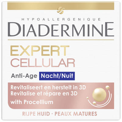 Diadermine DD cellular expert 3D night