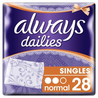 Always Dailies singles normal inlegkruisjes