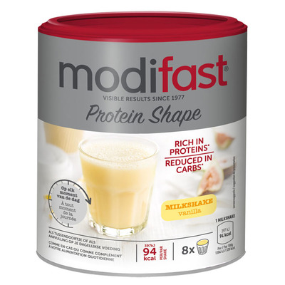 Modifast Proteïn shape milkshake vanille