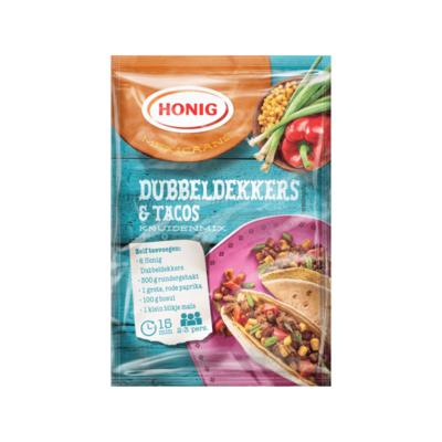 Honig Mexicaans Dubbeldekkers & Tacos Kruidenmix