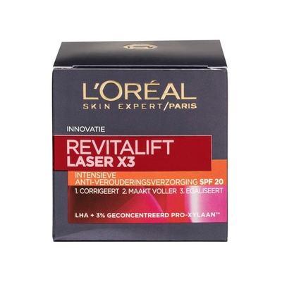 L'OréalRevitalift Laser X3 SPF 20 Dagcrème