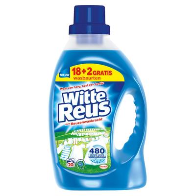 Witte Reus Gel Vloeibaar Wasmiddel 20 Wasbeurten