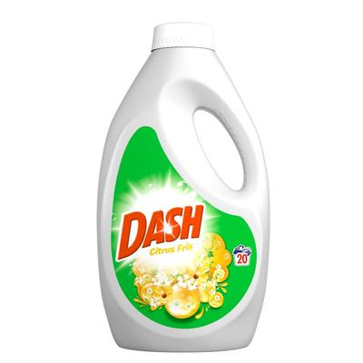 Dash Met Frisse Geur Van Citrus Vloeibaar Wasmiddel 1,3l 20 Wasbeurten