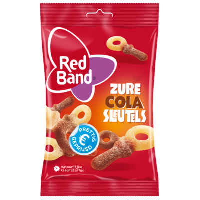 Red Band Zure colasleutels