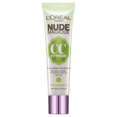 L'Oréal Paris nude magique CC cream antiredness