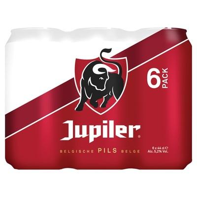 Jupiler Bier Blik 6X44 Cl