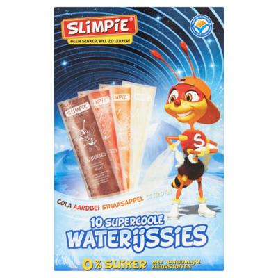 Slimpie Suikervrije waterijssies 10 stuks