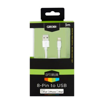 Grixx Optimum 8-Pin to USB 3m