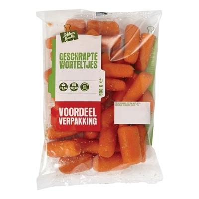 geschrapte worteltjes