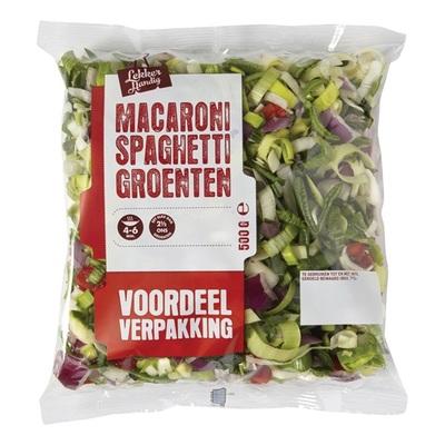 macaroni/spaghetti groenten