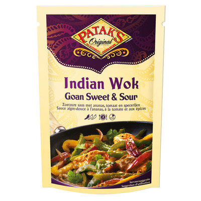 Patak's Indian wok Goan sweet & sour