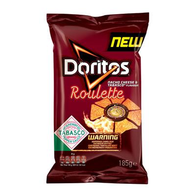 Doritos Roulette nacho cheese-hot chilli