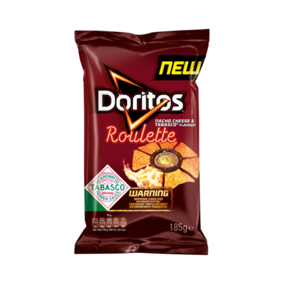 Doritos Roulette Maischips Nacho Cheese & Tabasco Flavour