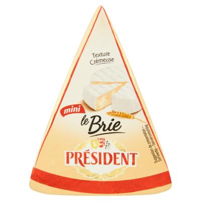 Président Le Brie Mini Kaas 125 g
