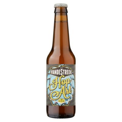 vandeStreek Bier Hop Art Fles