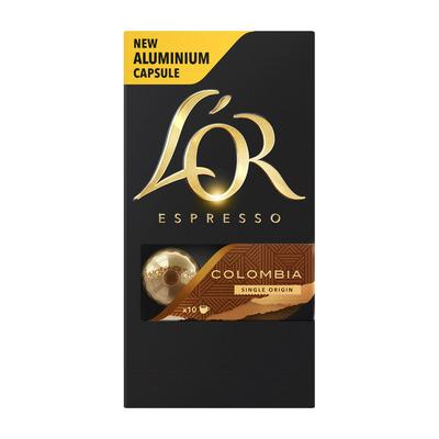 L'OR Espresso capsules Colombia single origin