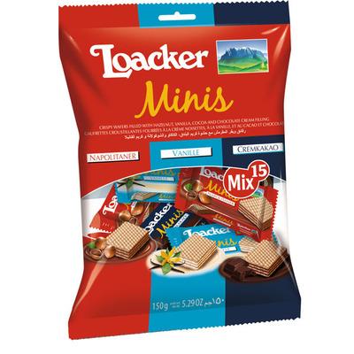 Loacker Mini's mix