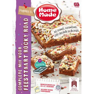 Homemade Complete mix voor feesttaart rocky road