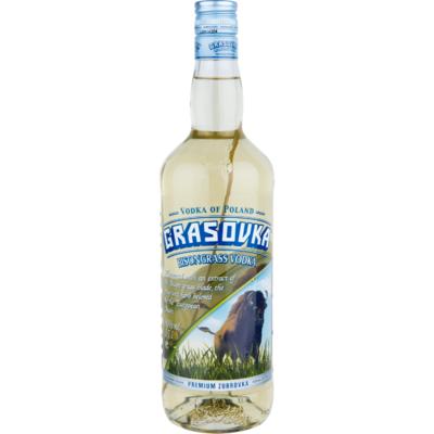 Grasovka Vodka met grasspriet
