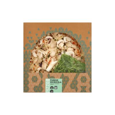 Huismerk Pizza Funghi en Rucola