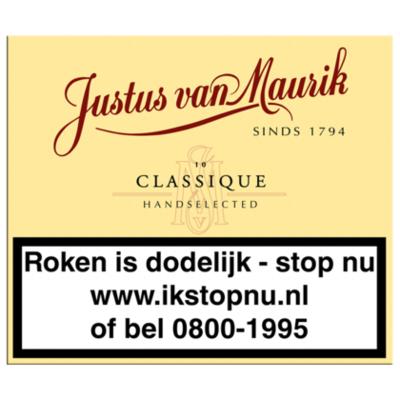 Justus van Mourik Sigaren classique