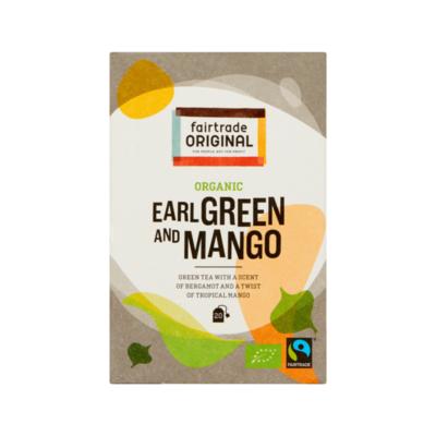 Fairtrade Original Organic Earl Green and Mango 20 Zakjes