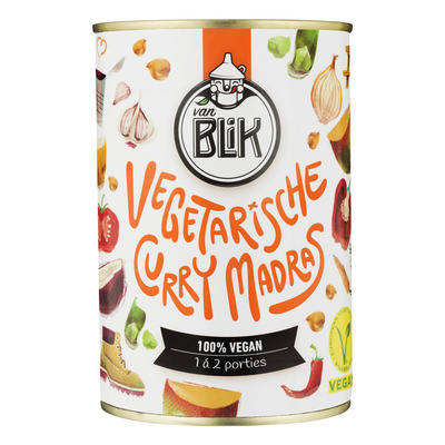 vanBLIK Vegetarische curry madras