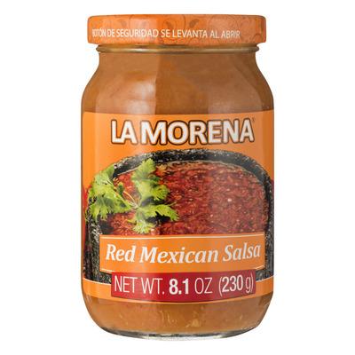 La Morena Mexican red salsa