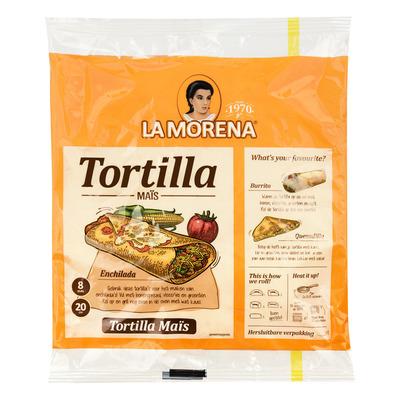La Morena Mais tortilla wraps