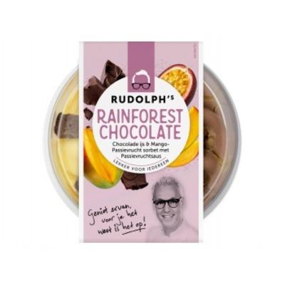Rudolph's Rainforest chocolate
