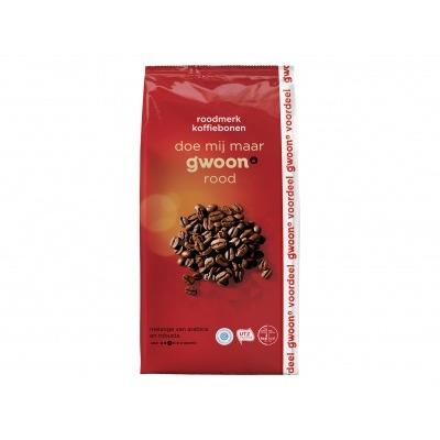 Huismerk Koffiebonen roodmerk