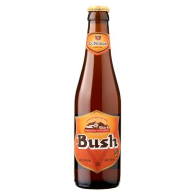 Bush Bier Amber Fles