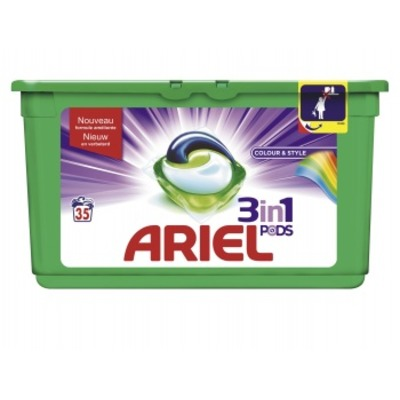 Ariel 3in1 PODS color wascapsules 35 wasbeurten