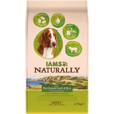 IAMS Naturally dog lam & rijst
