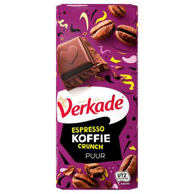 Verkade Reep espresso koffie crunch
