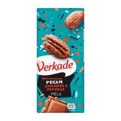 Verkade Gekarameliseerde Pecan Amandel & Zeezout Melk