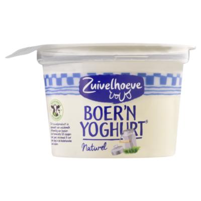 Zuivelhoeve Boer'n yoghurt naturel
