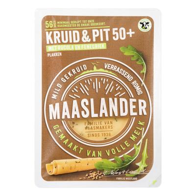 Maaslander Kruiden & pittige rucola 50+ plakken