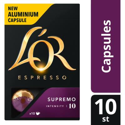 L'Or Espresso supremo sterkte 10