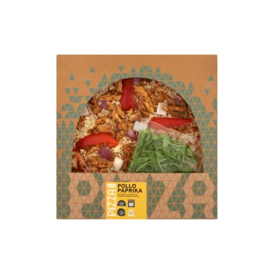 Huismerk Nieuwe Standaard Kip Pizza Pollo Paprika