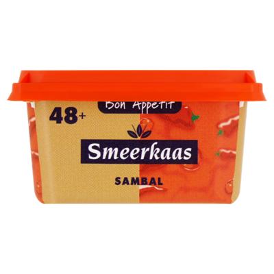Bon Appetit Smeerkaas 48+ Sambal 100 g