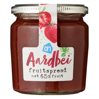 Huismerk Aardbei fruitspread minder suiker