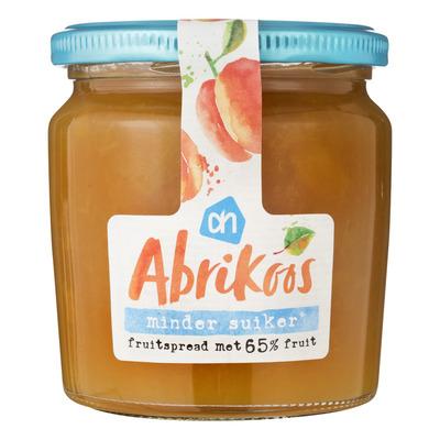 Huismerk Abrikoos fruitspread minder suiker