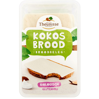Theunisse Biologisch kokosbrood glutenvrij