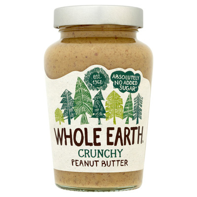 Whole Earth Original crunchy peanutbutter