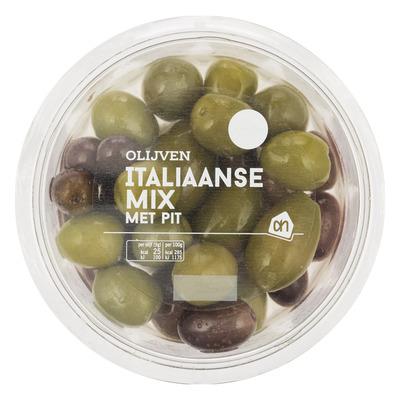AH Italiaanse olijven mix