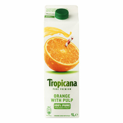 Tropicana Oranges with pulp